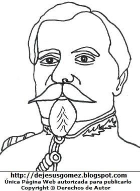 Francisco Bolognesi para colorear, pintar e imprimir. Dibujo de Francisco Bolognesi hecho por Jesus Gómez