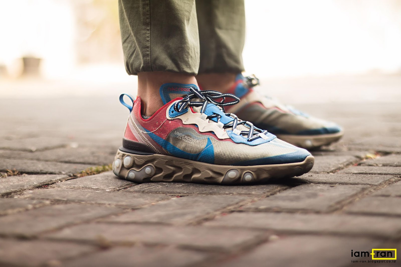 14b5be57ee97 IAM-RAN  ON FEET   Dimas Indro - Nike React Element 87 X Undercover