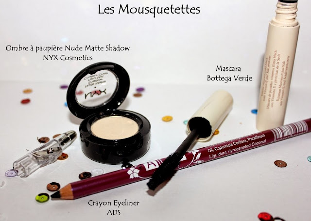 Favoris Make up NYX, Bottega Verde, ADS - Blog beauté Les Mousquetettes©