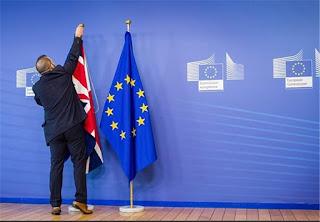 les négociations sur la sortie du Royaume-Uni de l'Union européenne