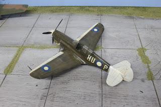 Mauve P-40 N 1/48