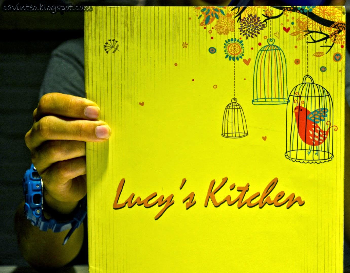 Lucy Kitchen Imago Menu