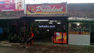 bakso president pandean malang