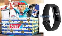 Logo Calendario dell'Avvento Tesa Italia ''Scopri l'elfo, rispondi e vinci gratis kit di prodotti e Fitbit Charge 3''