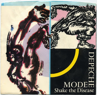 Depeche Mode - Shake the Disease okładka singla