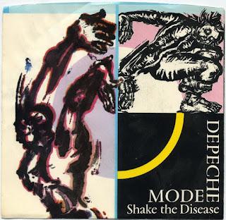 Depeche Mode - Shake the Disease okładka singla