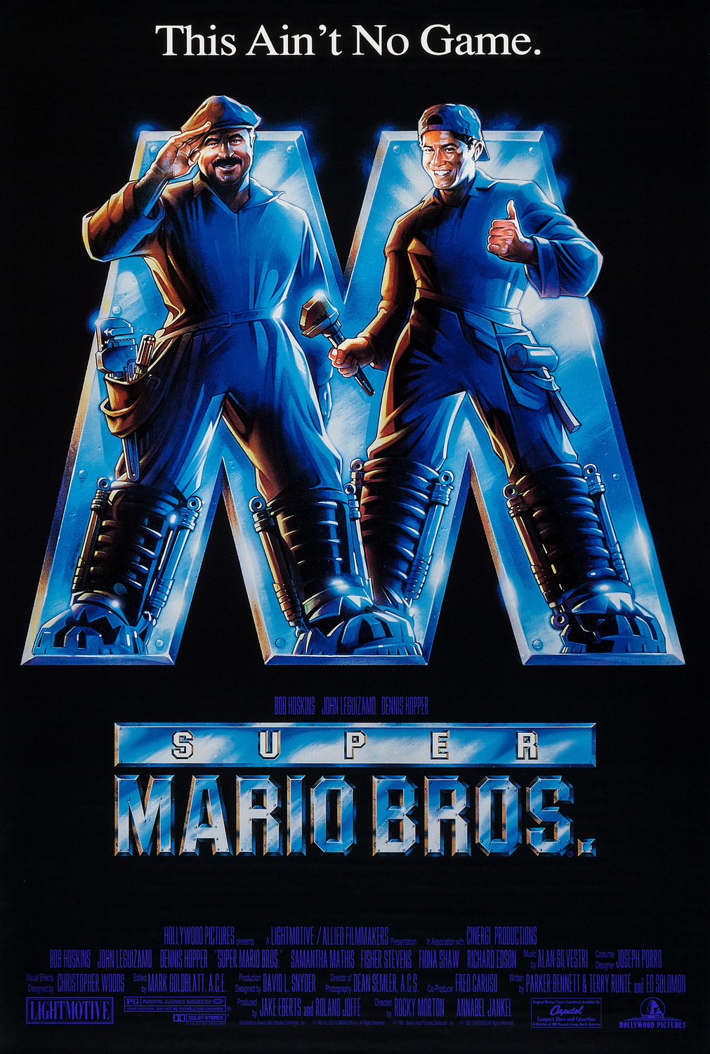 Film Thoughts: VIDEO GAME MOVIE MONTH: Super Mario Bros  (1993)