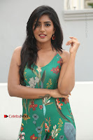 Actress Eesha Latest Pos in Green Floral Jumpsuit at Darshakudu Movie Teaser Launch .COM 0048.JPG