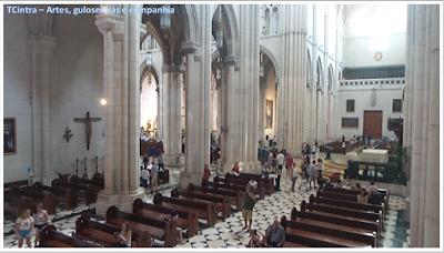 Madrid; Viagem Europa; Turismo na Espanha; Catedral da Nossa Senhora da Almudena; Catedral de Madrid