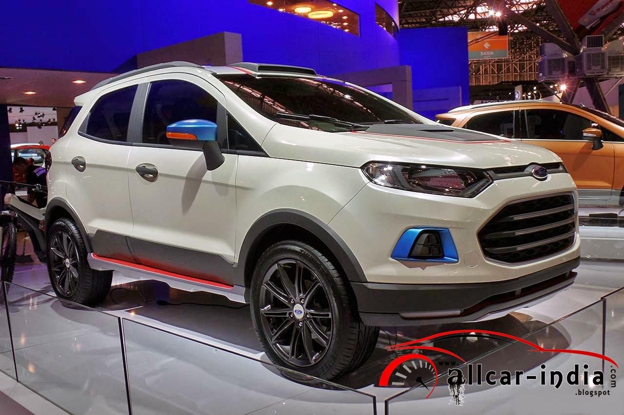 Automotive Craze Ford Ecosport Concepts