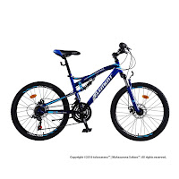 Sepeda Gunung Element 911 Police Montreal Full Suspension 21 Speed 26 Inci