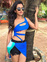 Indian Model Pranwesha in Blue Bikini Sizzling Cute Beauty ~  Exclusive Galleries 001.jpg