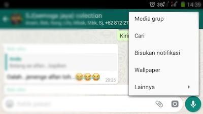 Cara Menghapus Semua Chat Di Group WhatsApp