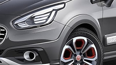 2016 Fiat Urban Crossover Front head lamp image HD