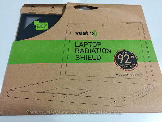 Vest tech anti radiation for laptop