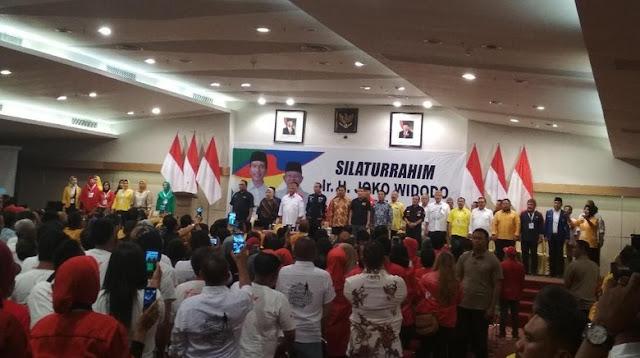 """Di Hotel Maqna Gorontalo, """"Keluarga Uno"""" Deklarasi Dukung Jokowi-Amin"""