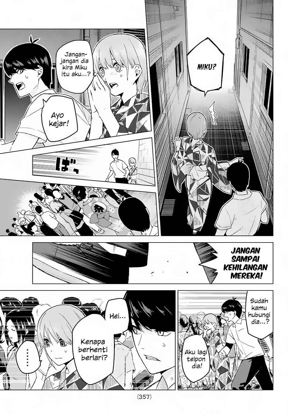 Baca Komik Go-toubun No Hanayome Chapter 10 Bahasa Indonesia