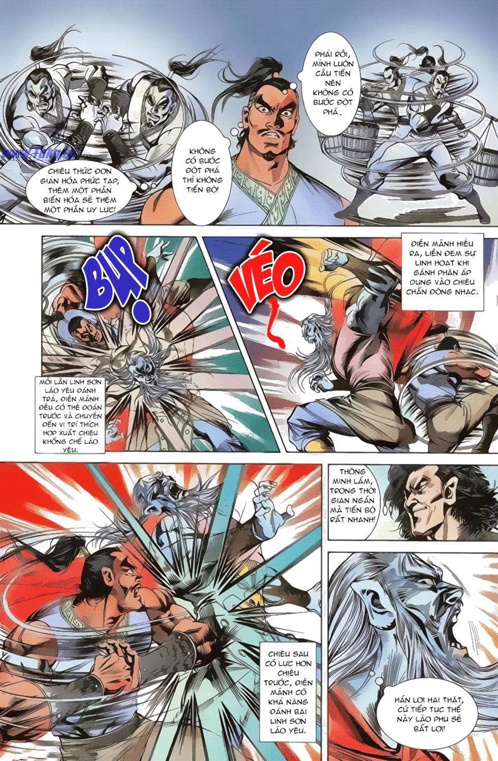 Tần Vương Doanh Chính chapter 17 trang 10