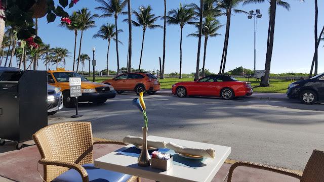 Restaurante do hotel Beacon