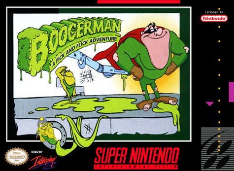 Boogerman: A Pick and Flick Adventure (SNES)