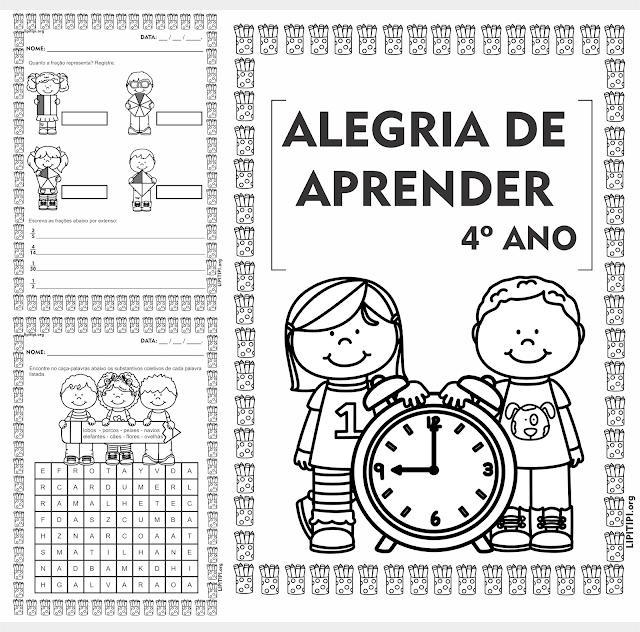 Caderno de Atividades Alegria de Aprender 4º ano