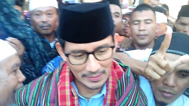 Safari Ramadan di NTB, Sandi Didoakan Jadi Salahuddin Ayyubi Abad 21