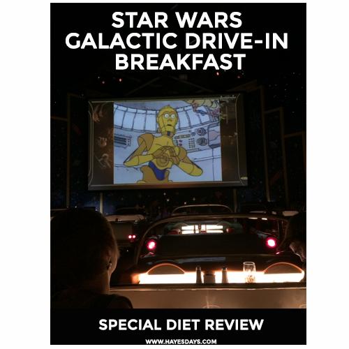 Disney Day Star Wars Dine In Galactic Breakfast Special