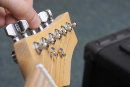 3 Cara Menyetel Gitar Dengan Cepat dan Tepat