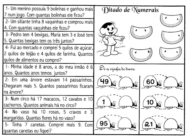 Portal Escola Matematica 2 Ano 60 Problemas Desafios Atividades P Imprimir