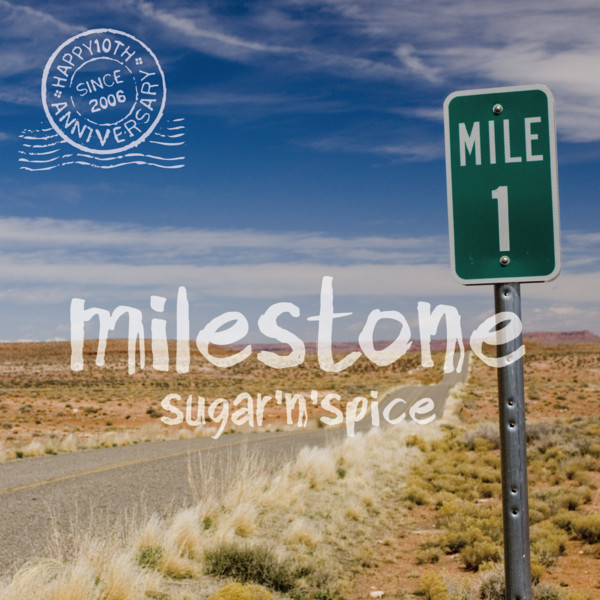 [Album] sugar'N'spice – Milestone (2016.05.04/MP3/RAR)