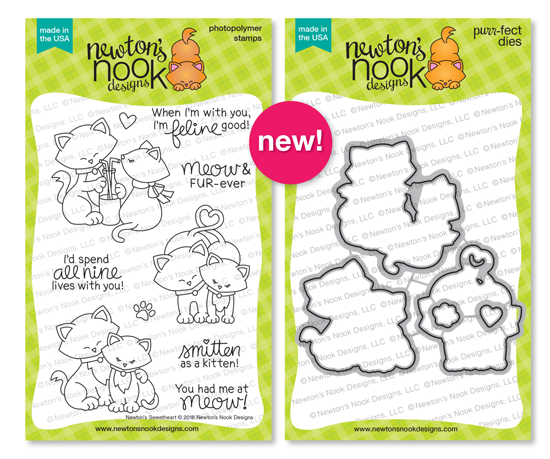 Newton's Sweetheart Stamp Set by Newton's Nook Designs #newtonsnook