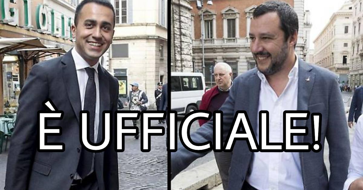 Diretta informazioni di maio e salvini hanno trovato l for Diretta dalla camera dei deputati