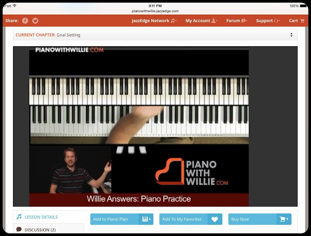 Unexpected Homeschool: Review PianoWithWillie Online Piano Lessons