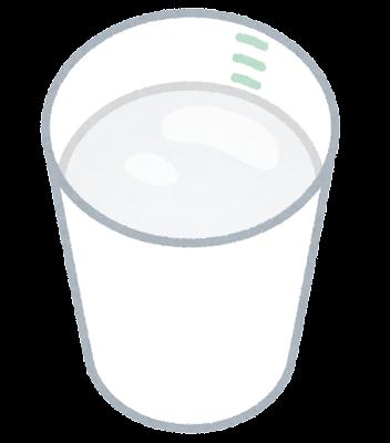 バリウムのカップのイラスト