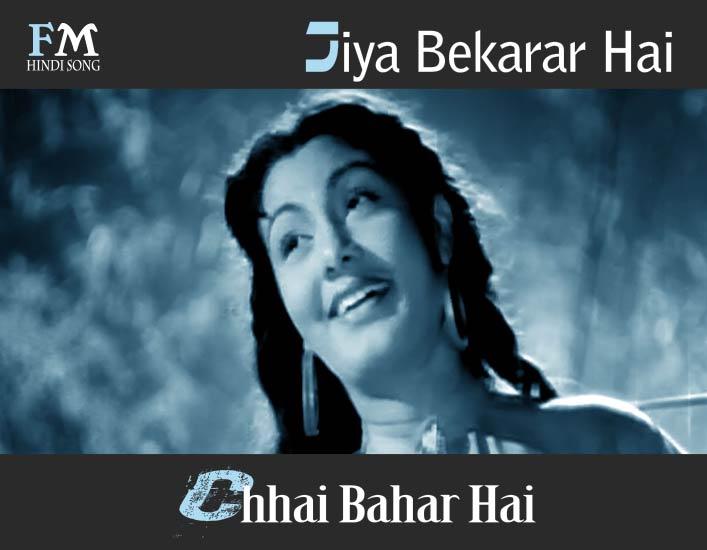Jiya-Bekarar-Hai-Chhai-Bahar-Hai-Barsaat-(1949)