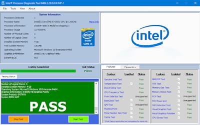 كيف تقوم بفحص سلامة معالج حاسوبك عبر اداة رسمية من شركة Intel