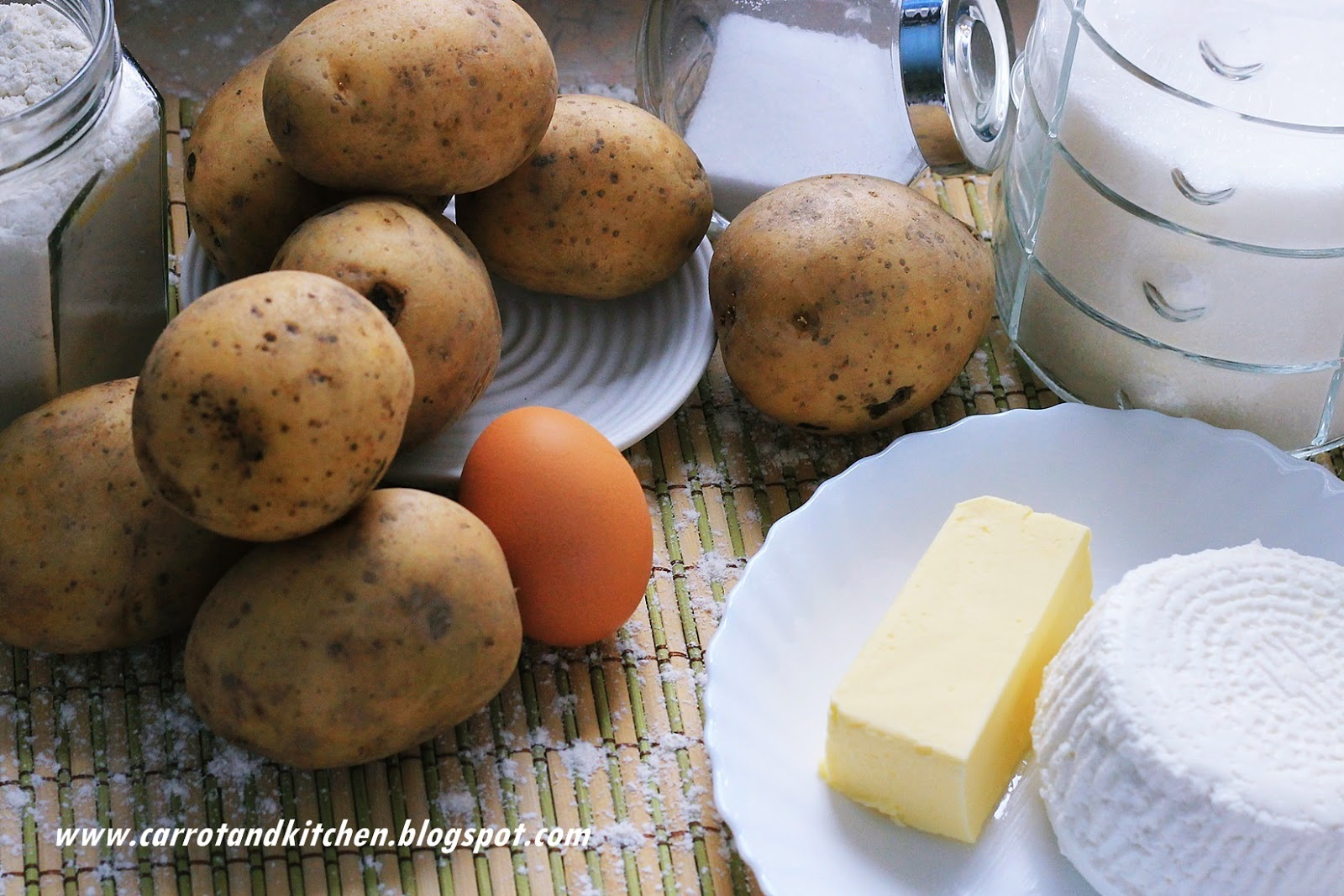 Kopytka z białym serem