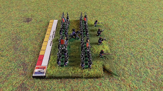 The brigade fought at Ligny and Wavre in 1815