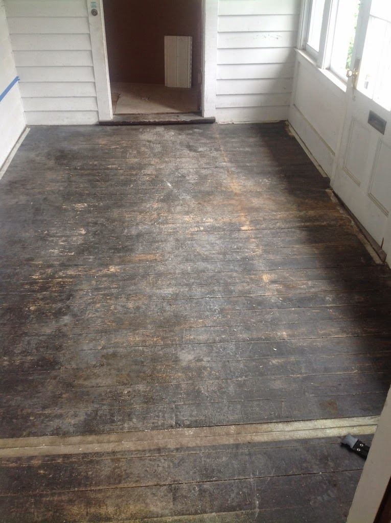 Sopo Cottage Before And After The Foyer Aka Mudroom