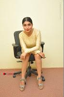 Actress Pooja Roshan Stills in Golden Short Dress at Box Movie Audio Launch  0081.JPG