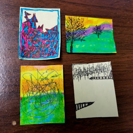 STICKY POST-IT NOTES ART - Part II