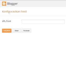 widget feed merupakan salah satu widget yang bisa anda gunakan untuk mempercantik blog an Cara Memasang Widget Feed Di Blog