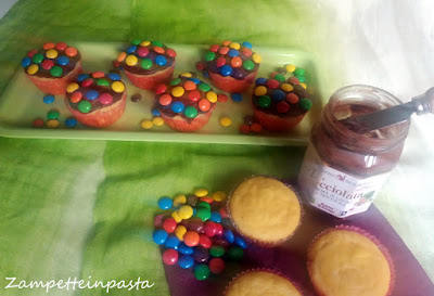 Muffin colorati allo yogurt - Dolci con lo yogurt