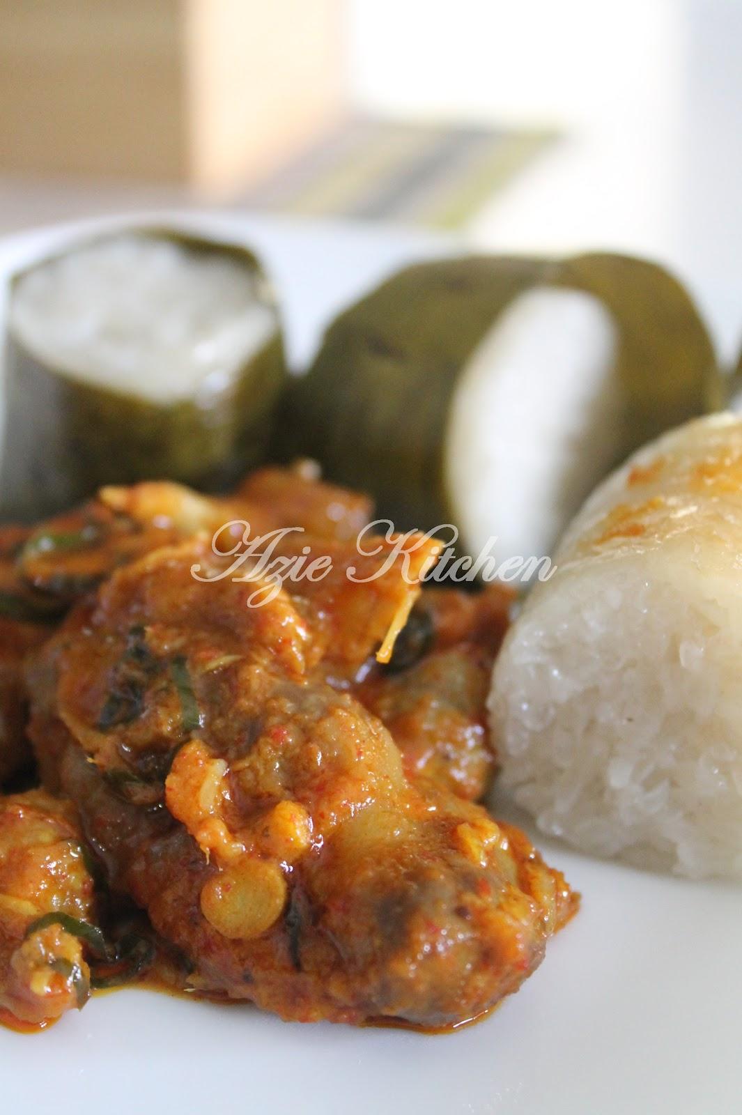 resepi rendang ayam  kuah kacang lamaran Resepi Rendang Ayam Chef Wan Enak dan Mudah