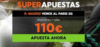 888sport superapuestas champions PSG vs Real Madrid 6 marzo