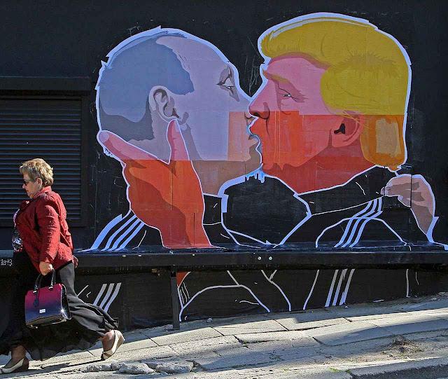 Para bálticos, Trump é um amigo encapuzado de Putin.