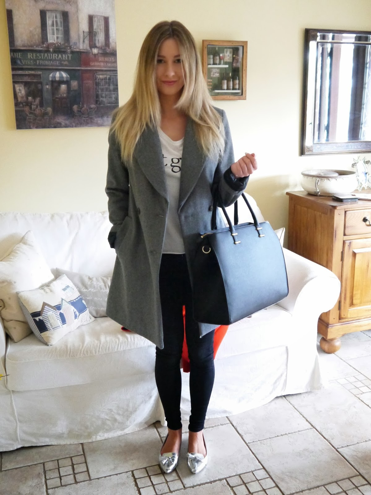 Grey and Oversized