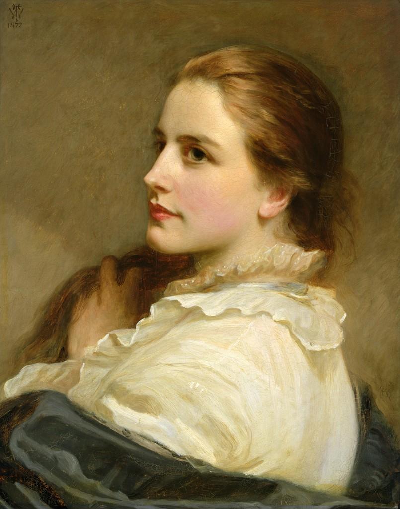 Victorian Portrait Dark 8 – Allie Serrano  Victorian Painting Portrait Artists
