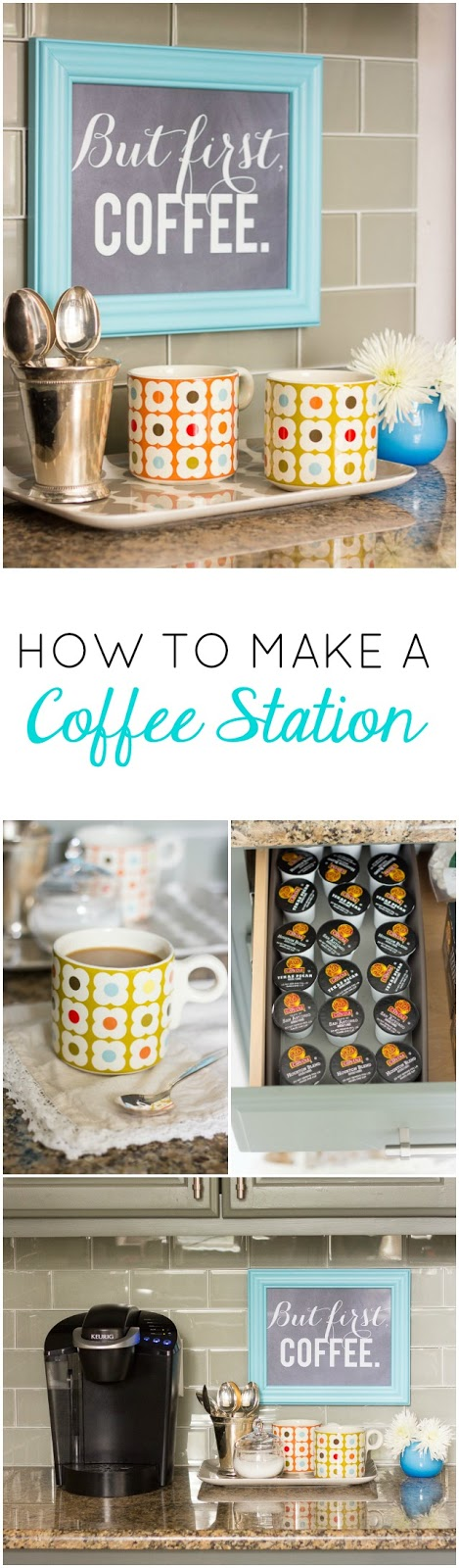 How to create a DIY Coffee Station