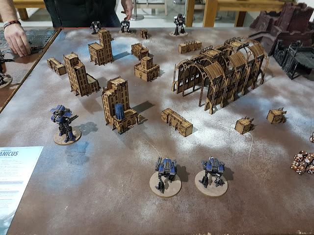 adeptus titanicus wayland games hockley warhound reavers legio hasta